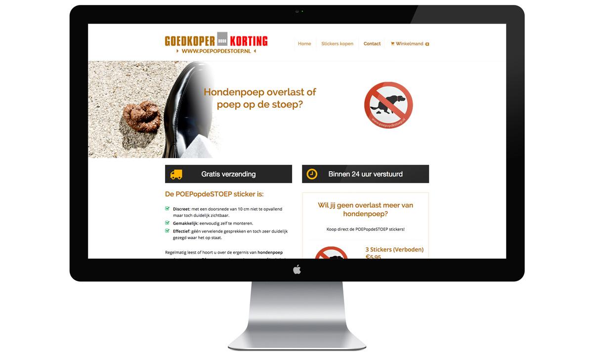 poep op de stoep webshop